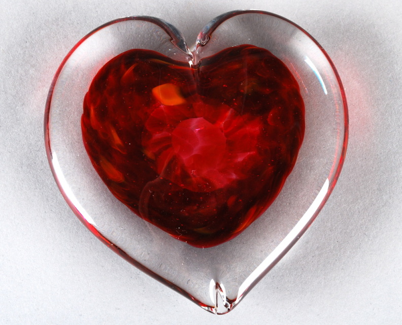 shop > Paperweights > Heart Paperweights > Dark Red Heart Paperweight